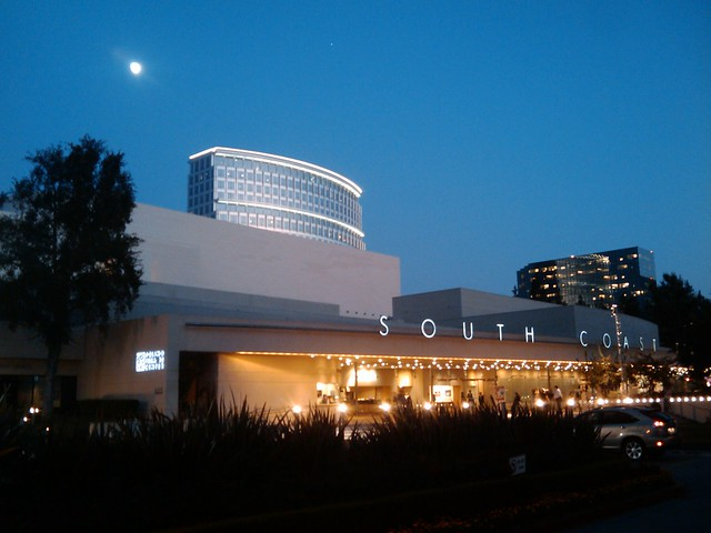 South Coast Repertory at Night