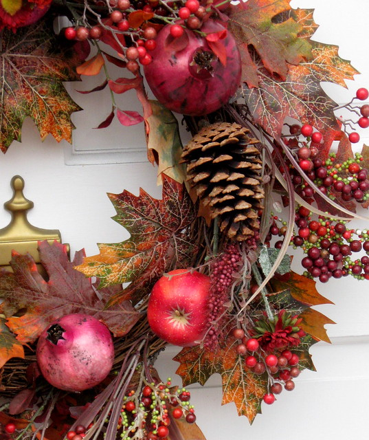Fall Wreath, Explore #135, October 19, 2009