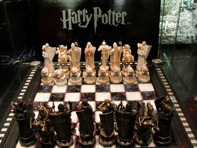 Wizard Chess Harry Potter Flickr Photo Sharing