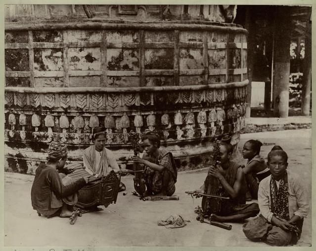 [Female musicians, India.]