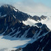 Spitsbergen (Svalbard): flying over the mountains and glaciers
