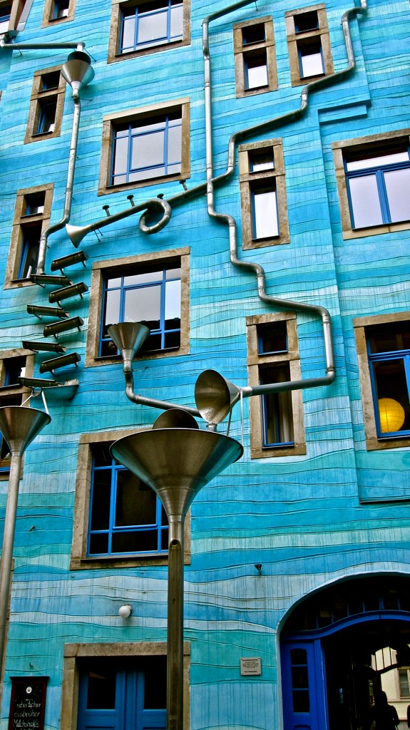 Neustadt Kunsthofpassage- Dresden, Germany