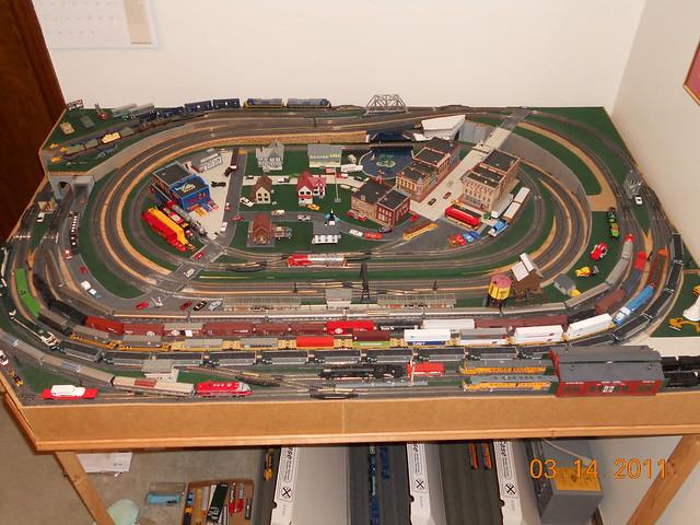 Scale model train layout springfield missouri flickr photo