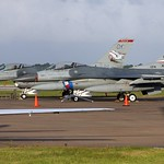 General Dynamics F-16 Fighting Falcon Vipers - 84-1274 & 89-2010 Ready for Change of ASA Role Ceremony, 147th FW to 138th FW