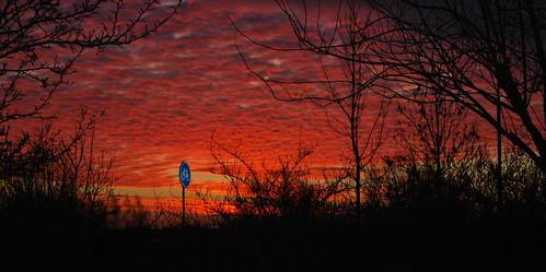 sky netherlands clouds sunrise nederland friesland leeuwarden fryslân