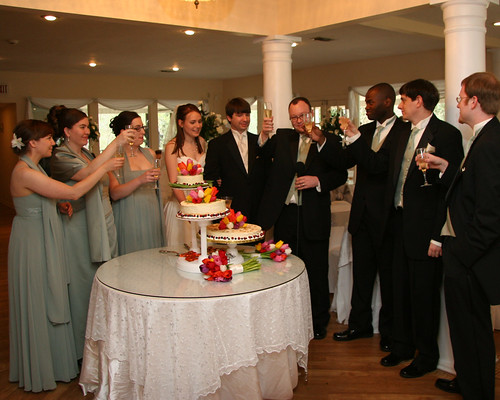 wedding anna kara jonathan mark brian toast val becky valerie flee cheesecakes lyle