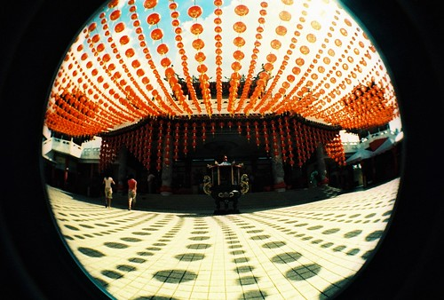 fisheye no 2 - thean hou temple