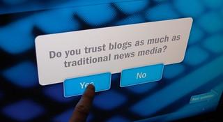 Newseum: Do You Trust Blogs?