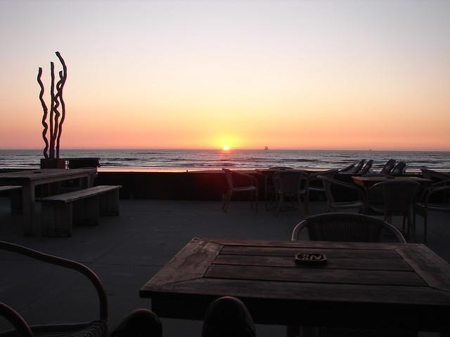Sunset @ Zandvoort