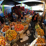 Tropical Fruits at San Francisco El Alto Market, Guatemala