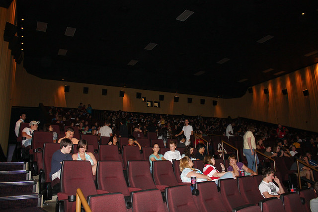 inside the movie theatre before midnight flickr photo