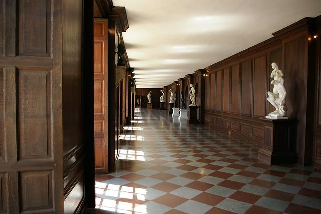 Inside Hampton Court Palace London England By