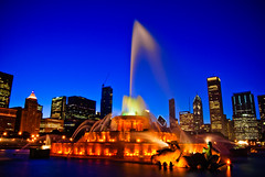 Buckingham Fountain light&music show