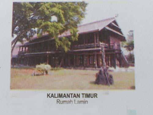Download this Rumah Lamin Kaltim picture