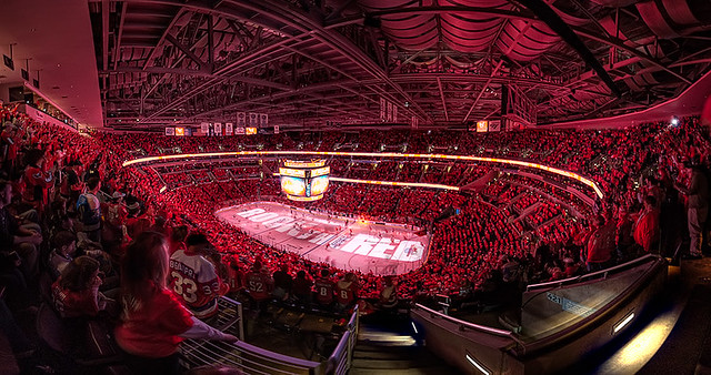 Rock The Red Wide At Verizon Center Flickr Photo