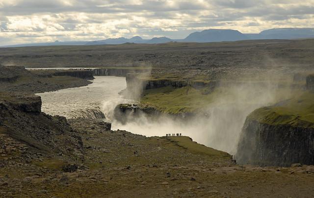 Las cataratas de Dettifoss. Parque Nacional Jökulsárgljúfur. Islandia