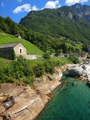 Tropical beach on the Alpes