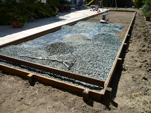 Backyard Bocce Ball Court Construction : Walnut Creek Bocce Ball Court Construction  Flickr  Photo Sharing!