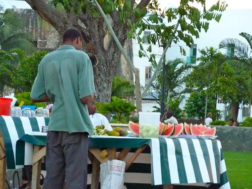 Food stalls, Stone Town, Zanzibar