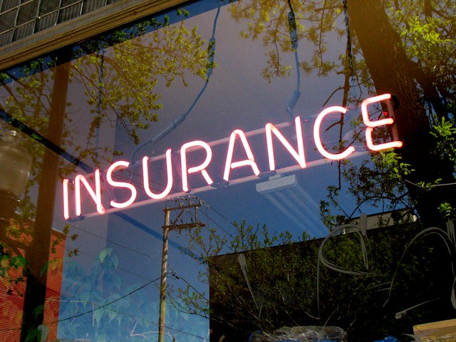 Neon Insurance Office Sign from Flickr via Wylio