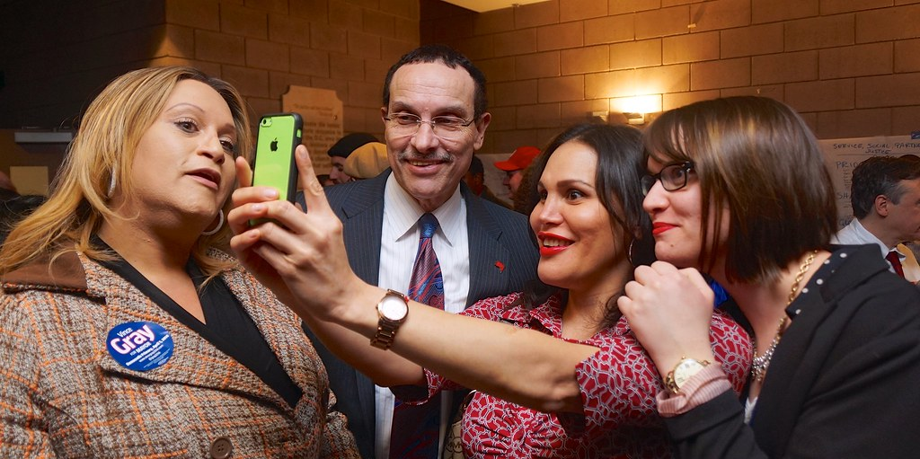 Photo Friday: Equality Selfie, with Washington, DC Mayor Vince Gray