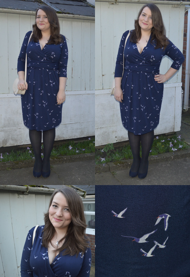 A picture of joules monica dress