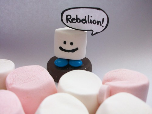 Rebellion of the sweets