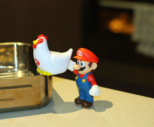 Mario returns to the Kitchen