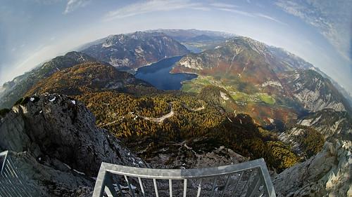 Hallstaettersee - Ausblick von 5 Fingers Krippenstein