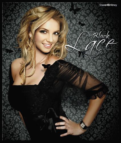 Black Lace Dress Britney Spears 87