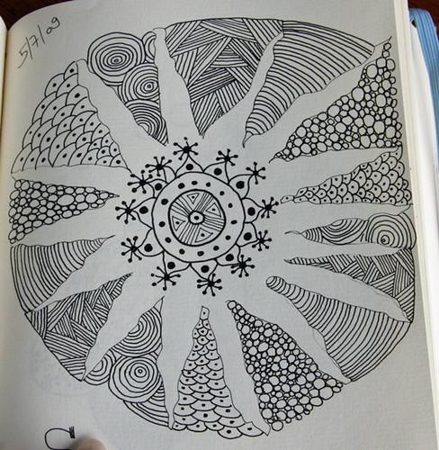 zentangle#45 (Sun Power) | Flickr - Photo Sharing!