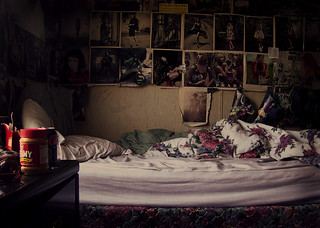 my bed room.