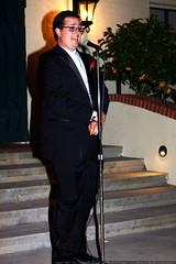 mike joyce on the mic    MG 2988
