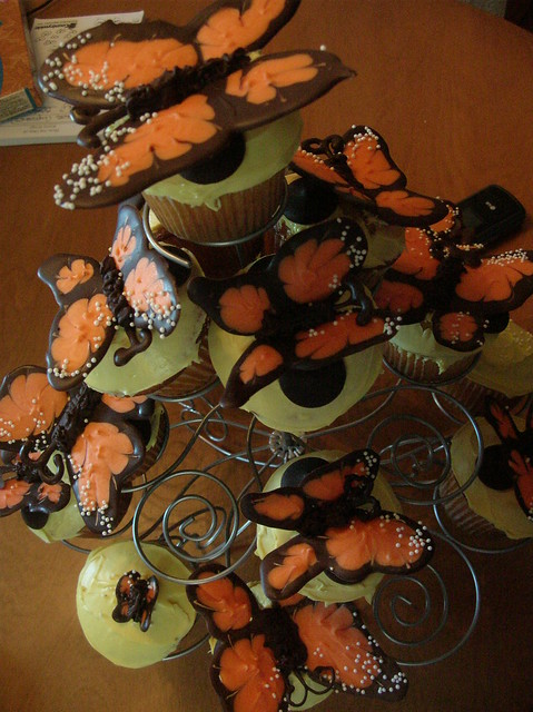 Monarch Butterfly Cupcakes