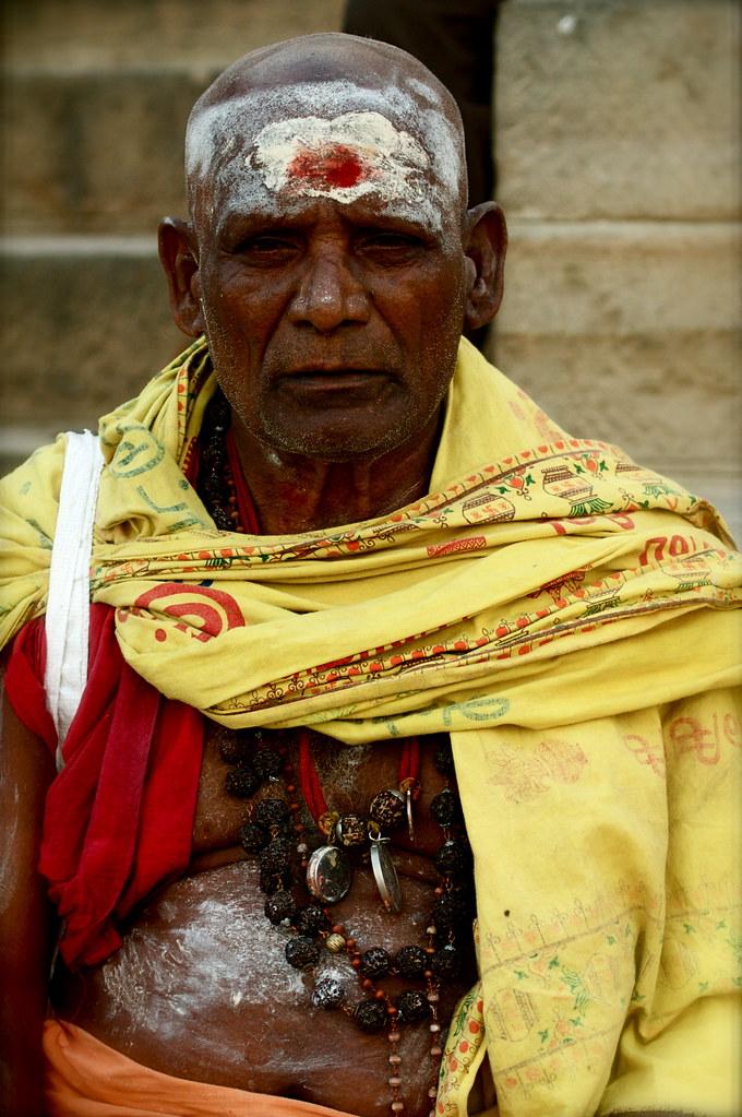 A Proud Varanasi Saddhu