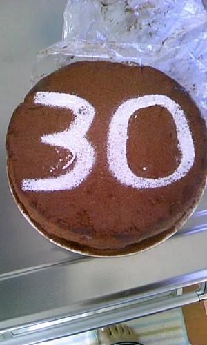 三十路ケーキ