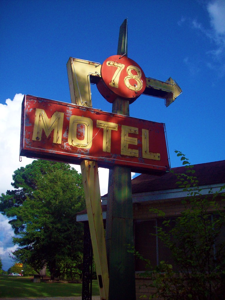 78 Motel - Tupelo, Mississippi U.S.A.