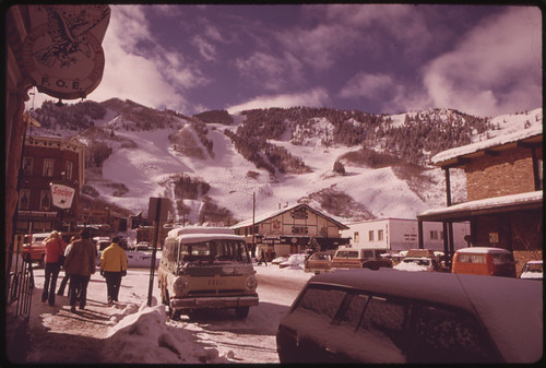 Documerica photo by Ron Hoffman Aspen, CO 02/1974