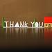 thank you by hellojenuine.
