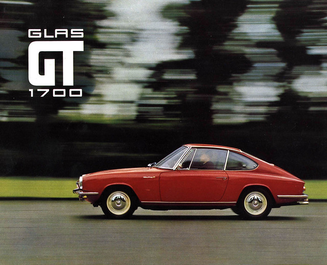 GLAS GT 1700 brochure, cover page