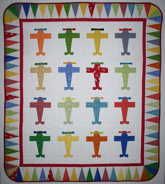 Baby Quilt Patterns For Boy : Fly Boy Baby Quilt Flickr - Photo Sharing!