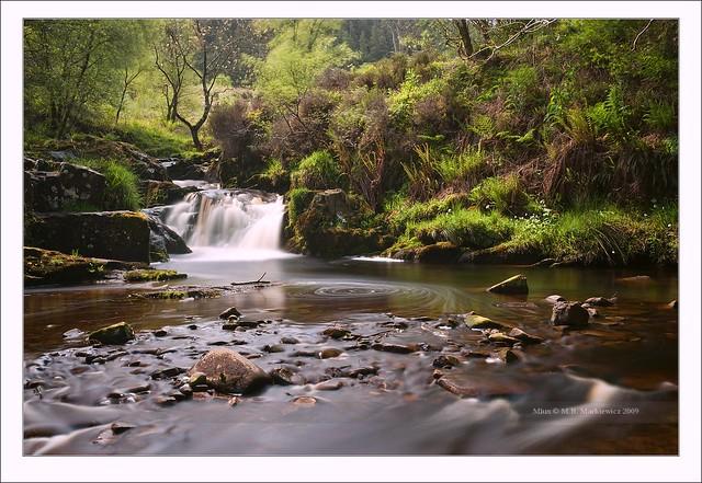 Upper Glenashdale Waterfall - Eas a' Chrannaig