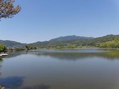 Daikakuji Temple pond