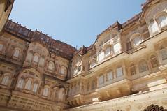Palace complex inside Mehrangarh