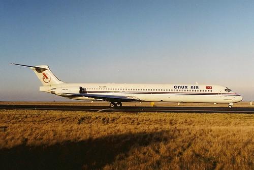 Onur Air MD88 TC-ONN
