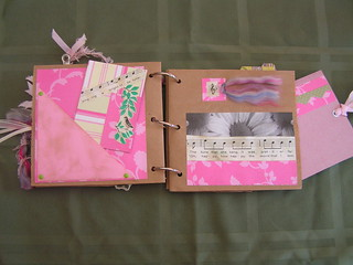 Pocket page with ACEO pgs 3+4