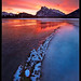 Mount Rundle Sunrise#2 by Chip Phillips