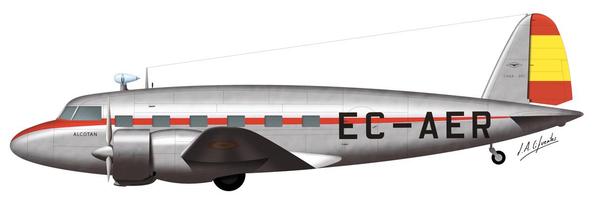 CASA C-201 Prototipo