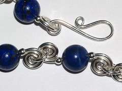 Lapis double spiral links