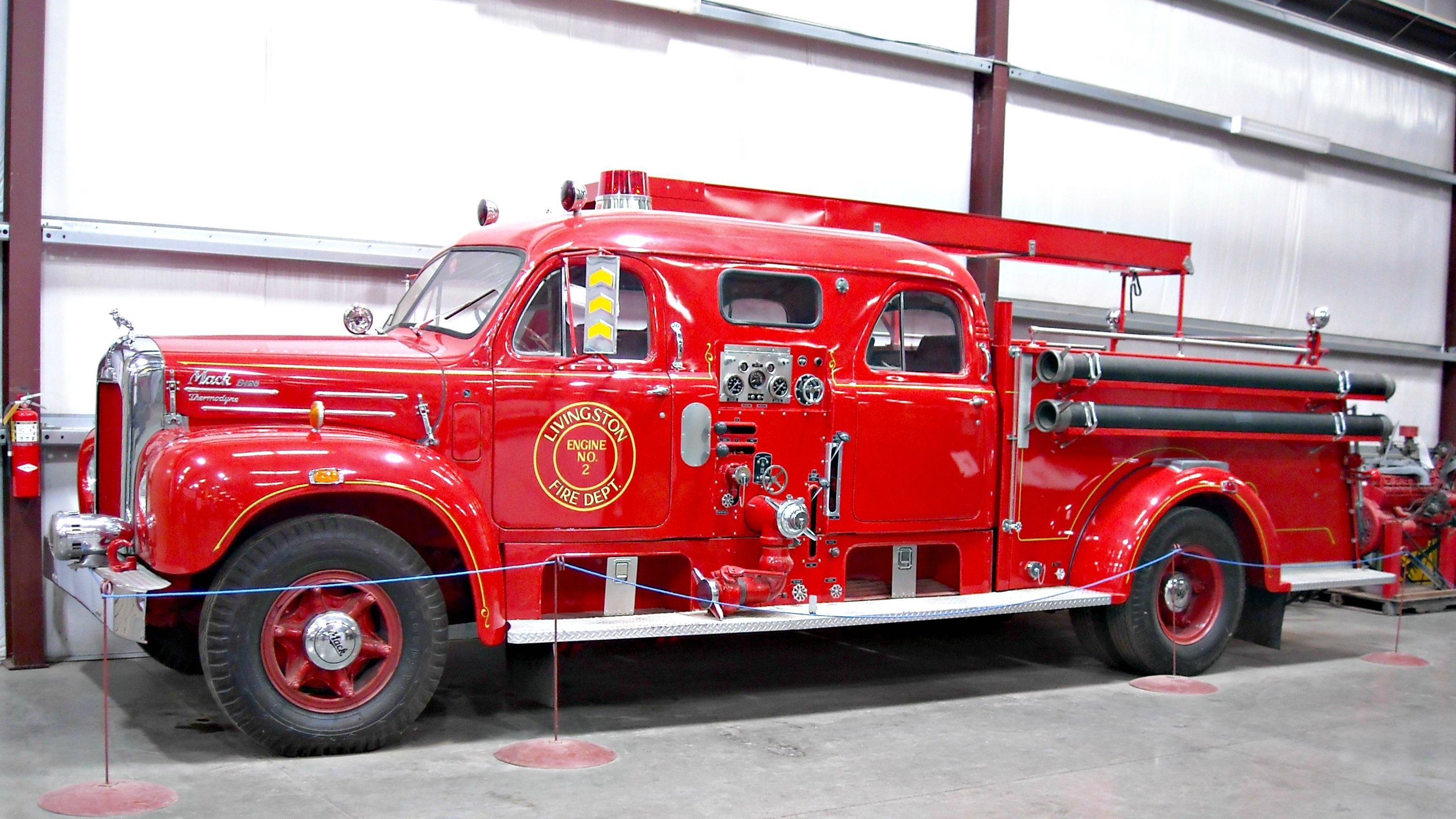 Old Mack Fire Trucks : Mack model b fire truck flickr photo sharing